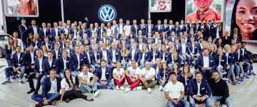 Volkswagen Messebekleidung
