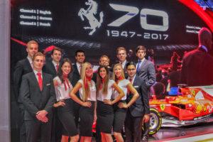 Exlusive Outfits im italien Style für Premiumhersteller Ferrari